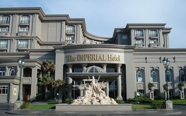 Khách sạn Imperial đã sử dụng ống nước Vesbo