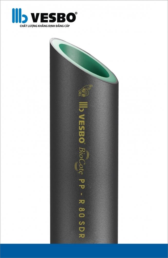 Ống nước lạnh UV chống tia cực tím PP-R Vesbo