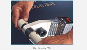 Hướng dẫn cách hàn ống nước chịu nhiệt PPR Vesbo