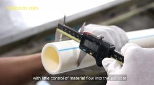 Kỹ thuật sản xuất ống nước vesbo và những cải tiến mới