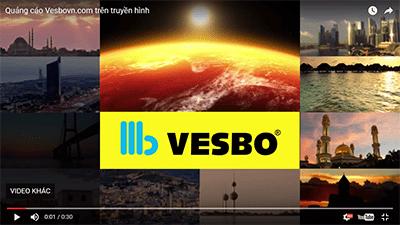 Lịch phát sóng quảng cáo của vesbovn.com trên truyền hình