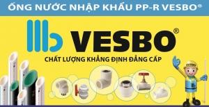 Ống nước vesbo được sử dụng công nghệ in laser cao cấp nhất hiện có
