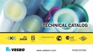Tải về catalog kỹ thuật ống nước Vesbo file PDF